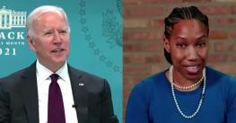 Walgreens pharmacist thanks Biden for vaccines