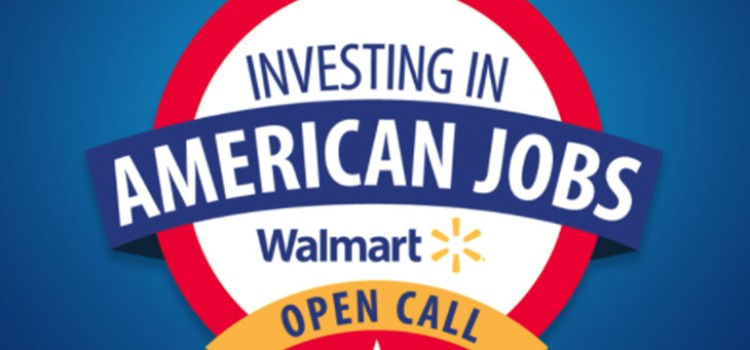 Walmart accepting Open Call applications