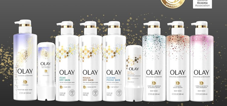 Olay debuts three premium body care collections