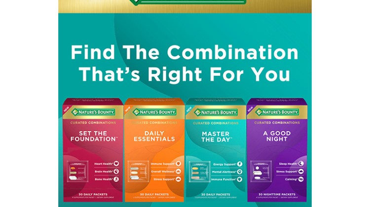 Nature's Bounty debuts Curated Combinations line