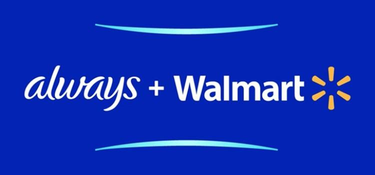 Always and Walmart help girls stay in sports