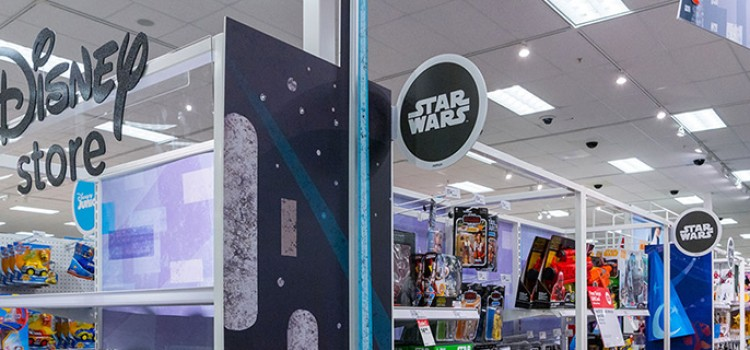 Target adding more Disney-themed departments