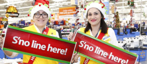 Walmart holiday helpers