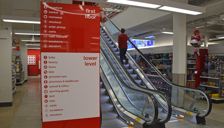 Target small-format store