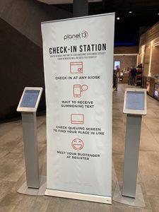 CBD check in station